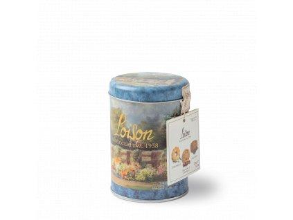 mix sušenek v plechovce 120g heřmánkové, třešnové se skořicí a lékořicové