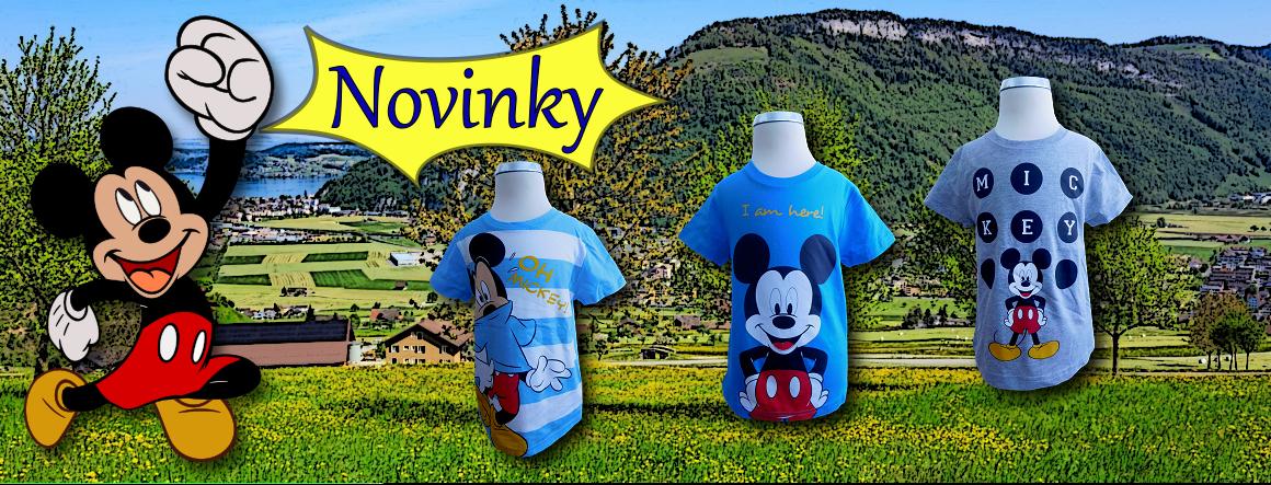 Novinky Mickey Mouse