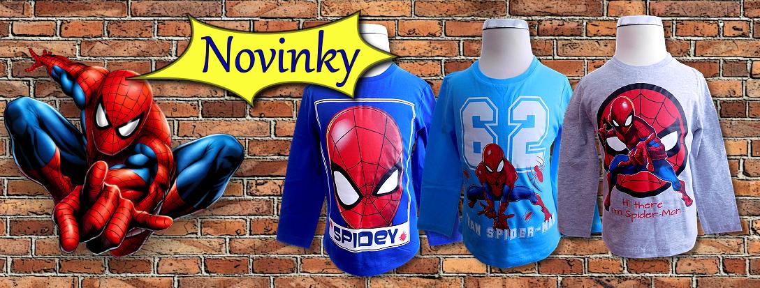 Novinky Spiderman