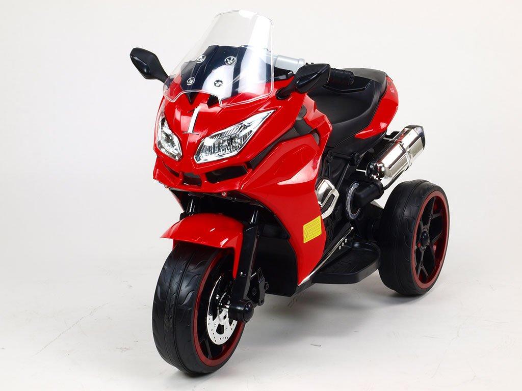 311 23 elektricka motorka tricykl dragon s osvetlenymi koly motory 2x6v perovanim napravy led osvetleni
