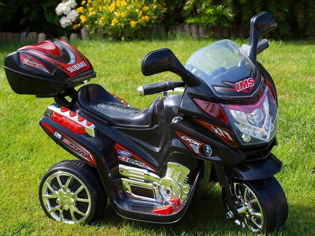 203 8 elektricka motorka viper dalnicni policie stredni velikost cerna