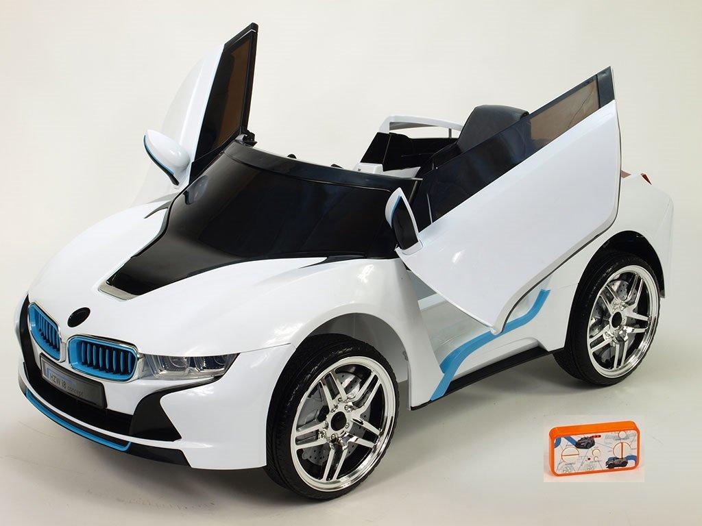455 21 elektricke auticko hzw i8 concept s vyklopnymi dvermi 2 4g do fm usb mp3 perovanim naprav