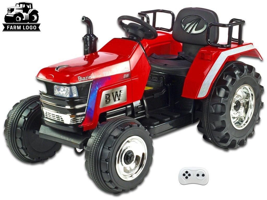 Traktor Big Farm červ 1