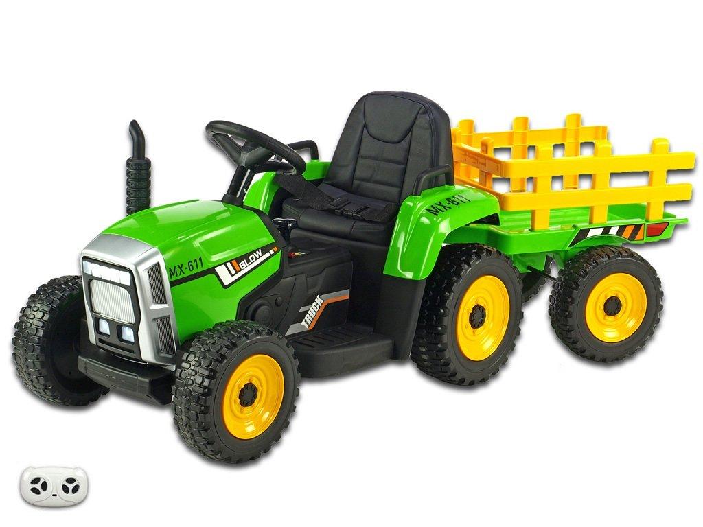 Rozkošný traktor zel 1