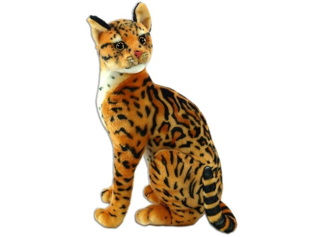 Plyšová kočka ocelot