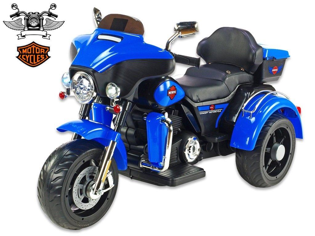 Chopper Big Motorc modrý 1