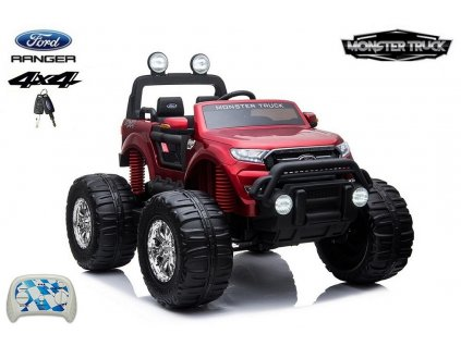 1215 10 ford ranger monster truck 4x4 do terenu dvoumistny cervena metaliza