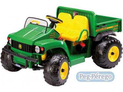 8738 peg perego john deere gator hpx 12 v 2 motory elektricke vozitko pro deti