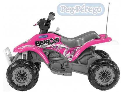 8774 peg perego corral bearcat 6v 1 motor pink elektricke vozitko pro deti