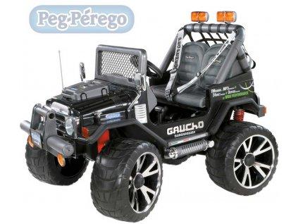 8786 peg perego gaucho super power 24v elektricke vozitko pro deti