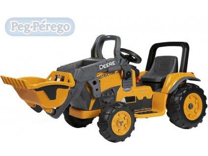 16664 peg perego john deere construction loader 12v elektricke vozitko