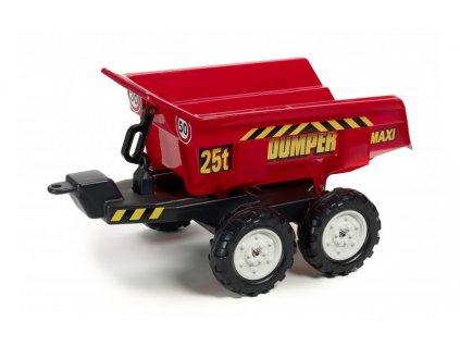 890 10 elektricke auticko vlek za traktor dumper maxi veliky vyklopny 4 kolovy delka 87cm made in france