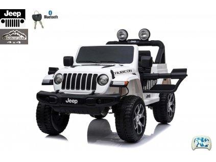 Elektrický džíp Jeep Wrangler Rubicon bílý