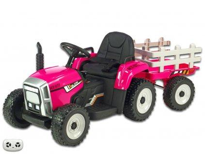 Rozkošný traktor růž 1