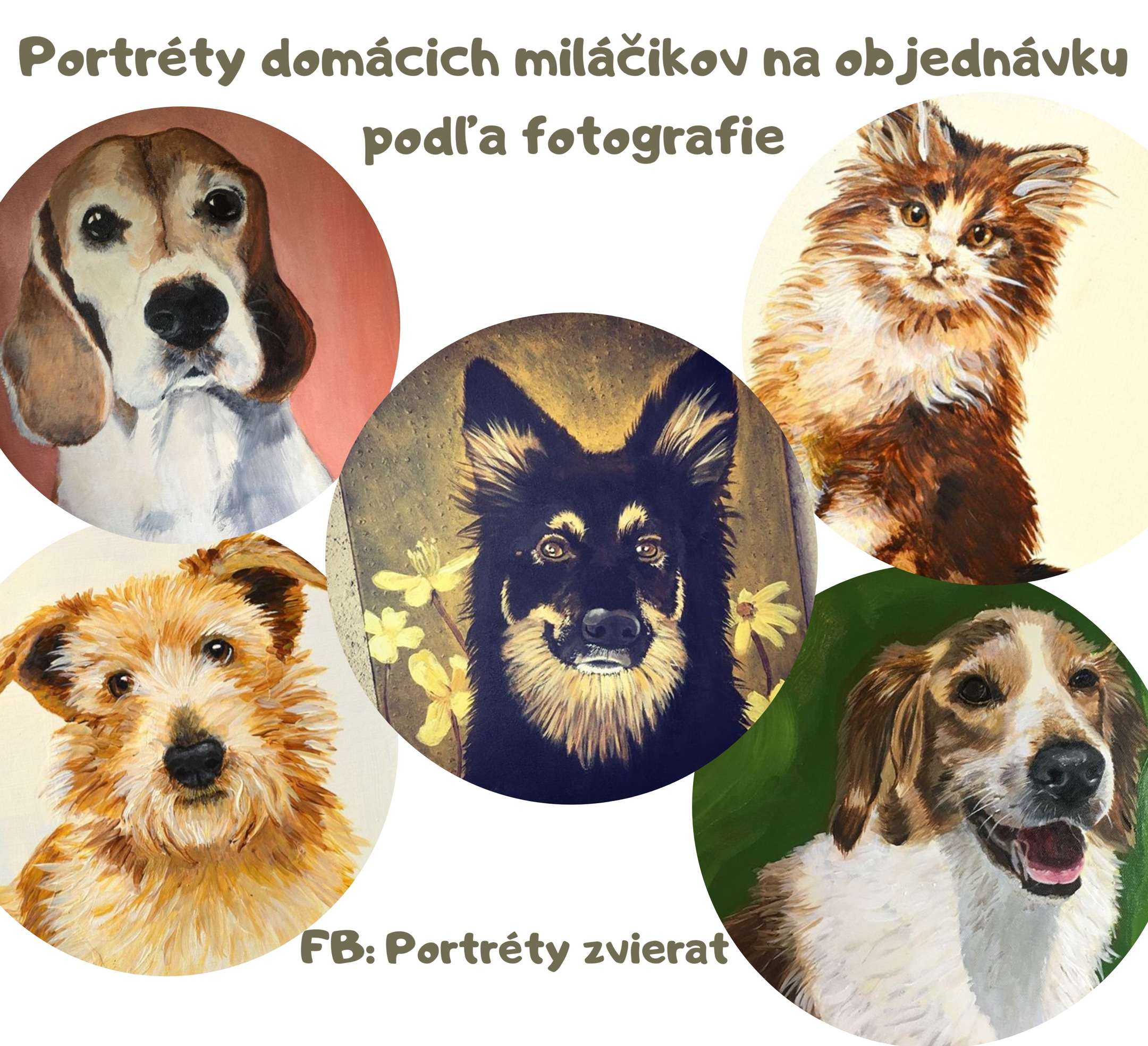 Portréty zvierat