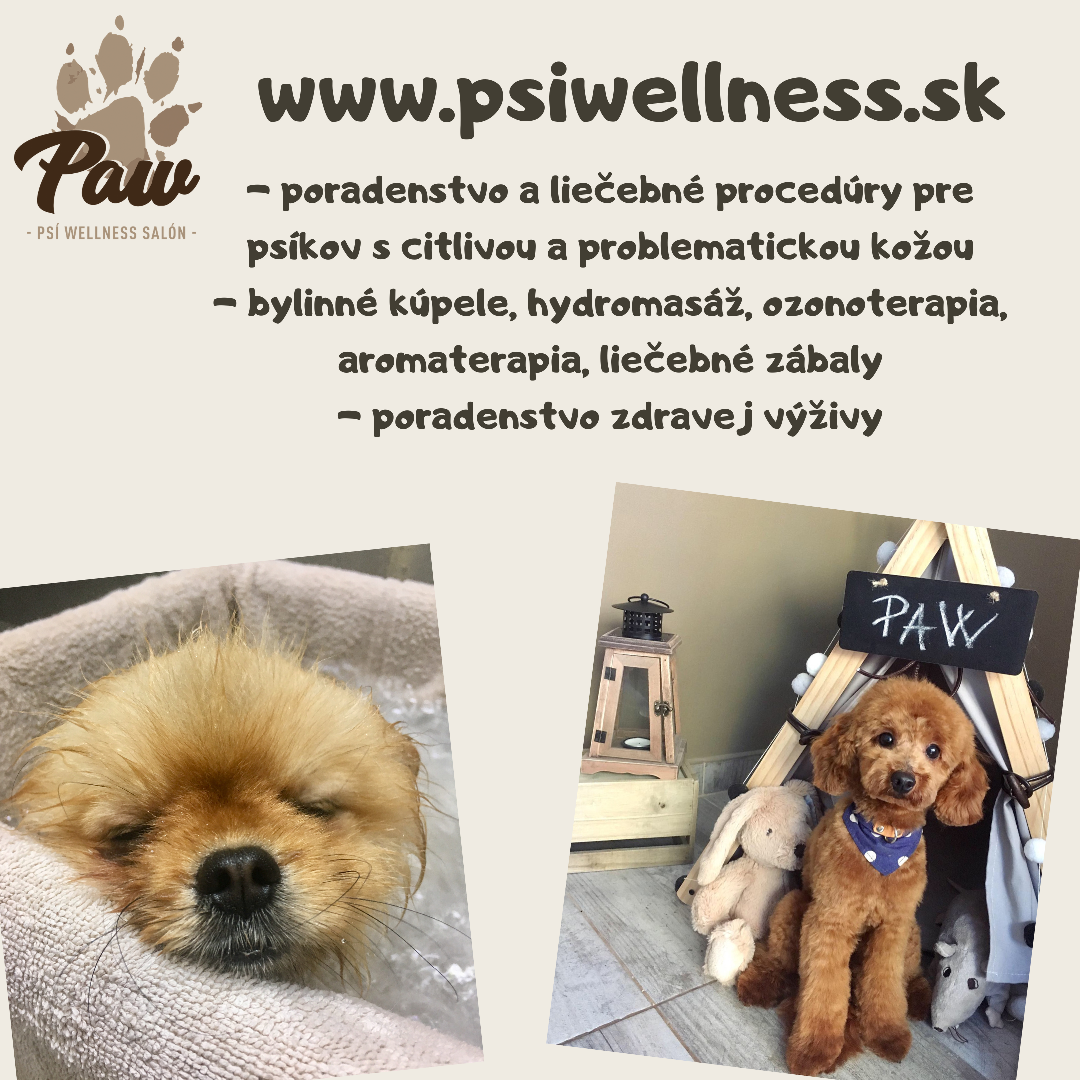 PAW psí wellness salón