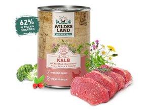Wildes Land - teľacie mäso