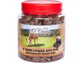 O'Canis Fitness Bits PLUS Hovězí se švestkou