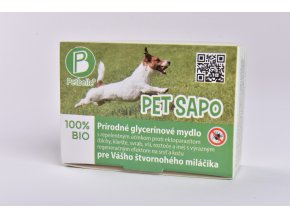 Pet Sapo - antiparazitné mydlo