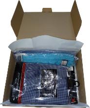 Výseková krabice - balení košile