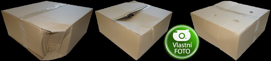 Deformace krabice - Testliner 5VVL
