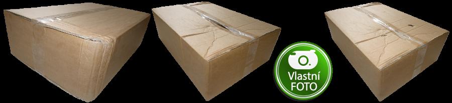 Deformace krabice - Kraftliner 5VVL