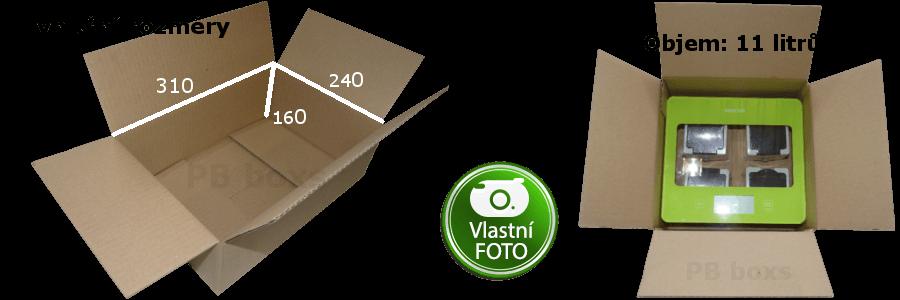 Klopová krabice 310x240x160 mm