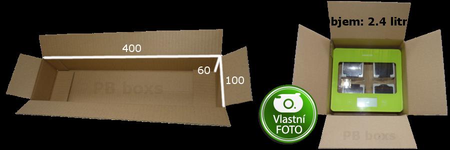 Parametry kartonové krabice