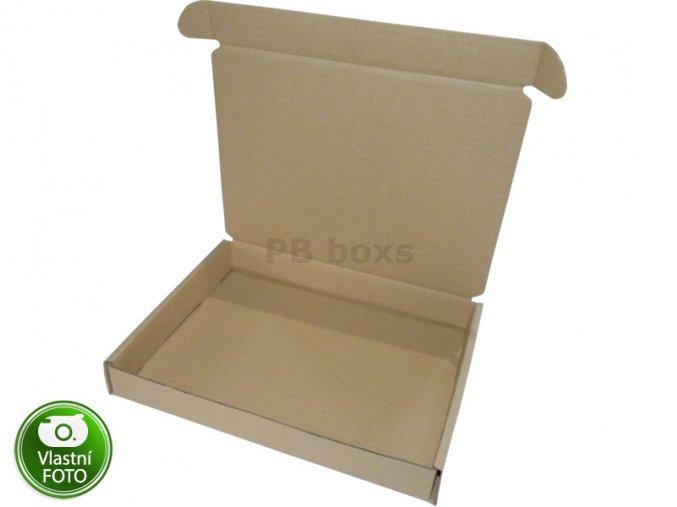 Výseková krabice 270x210x35 mm