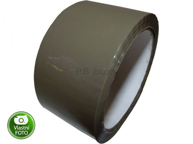 Lepící páska - hnědá 48mm x 66m