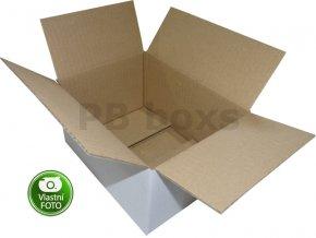 Klopová krabice 200x150x100 mm bílá