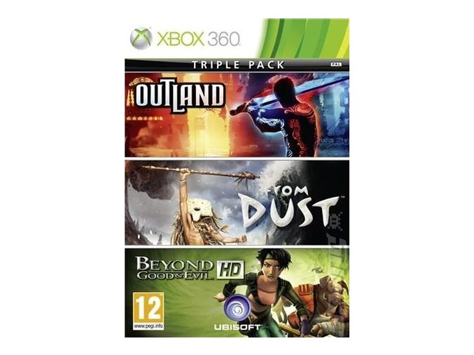 Outland + From Dust + Beyond Good and Evil