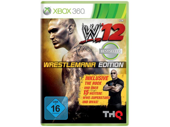 WWE 12 (WrestleMania Edition)