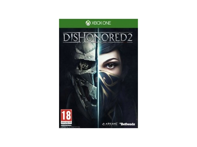 dishonored 2 xbox one cover