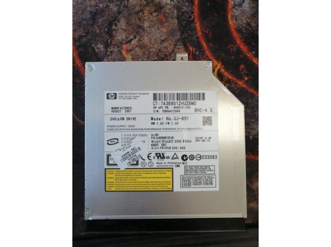 HP Pavilon dv6500 DVD-RW Model no.UJ-851