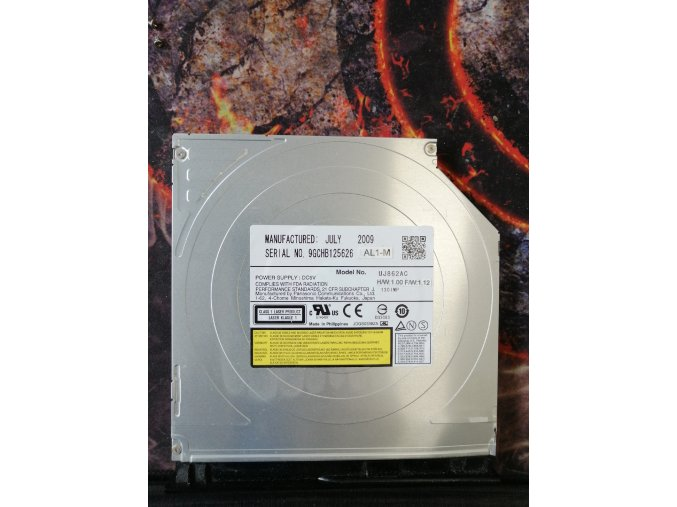 DVD Model no. uj862ac