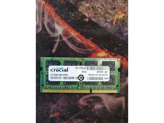 RAM Crucial 4GB DDR3