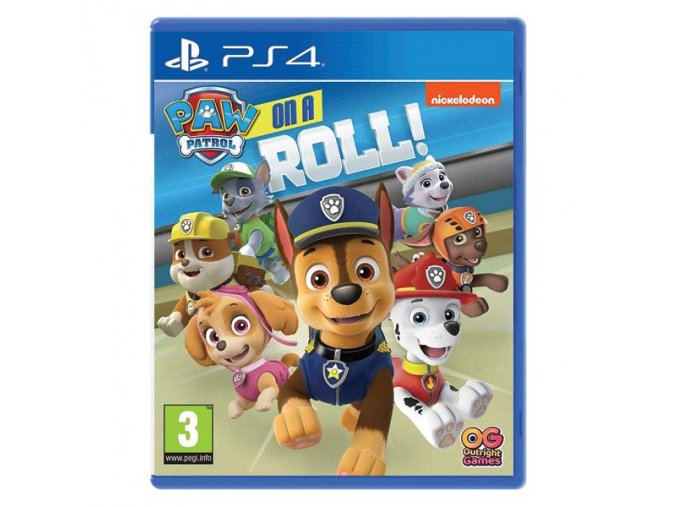 paw patrol on a roll ps4 389948