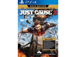 ps4 just cause 3 gold edition nova