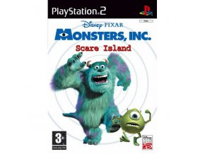monsters inc scare island ps2 big 7458