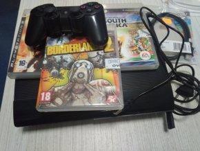 PS3 SLIM 12GB (používané)