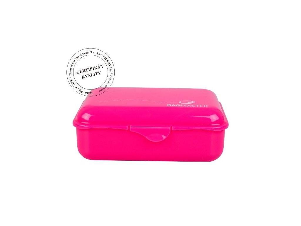Krabička na svačinu LUNCH BOX 013 A PINK