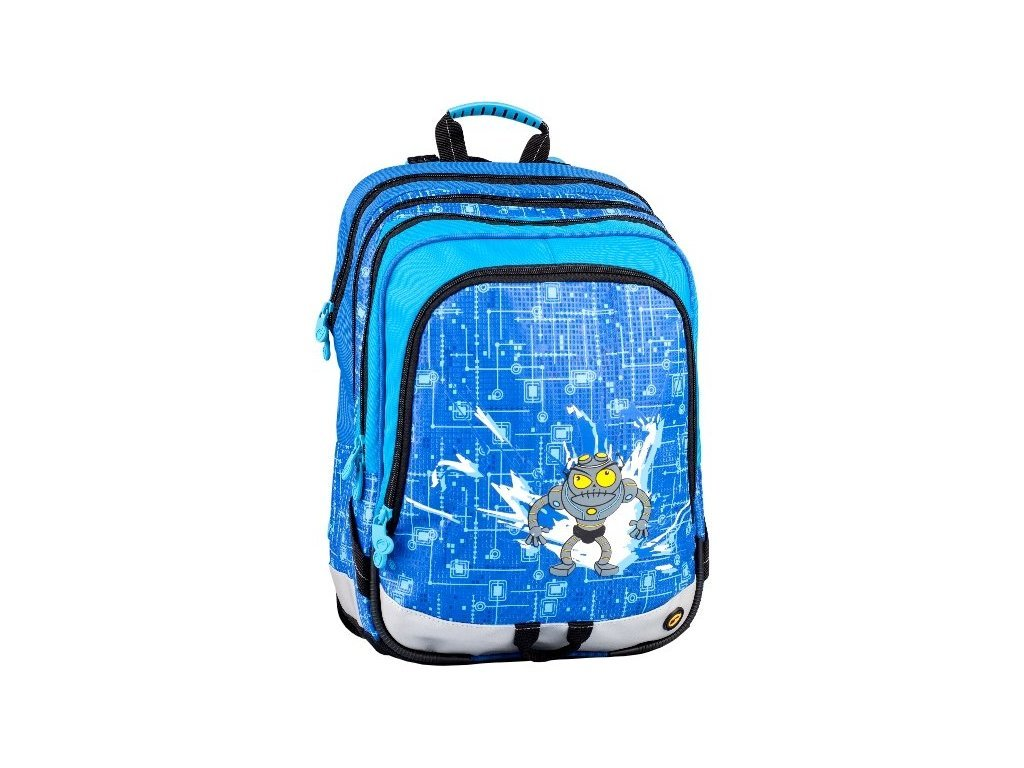 889 skolni batoh bagmaster s1a 0114 c blue