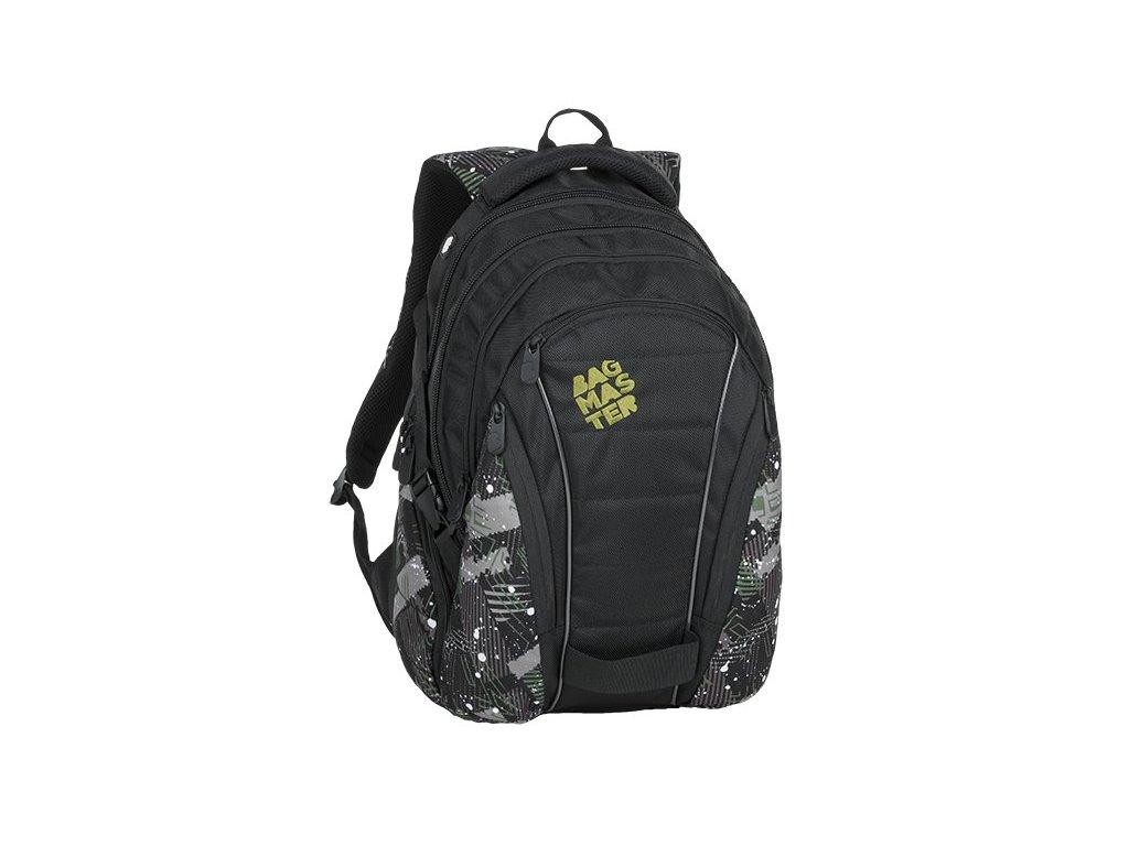 BAG 9 G GREEN/GRAY/BLACK