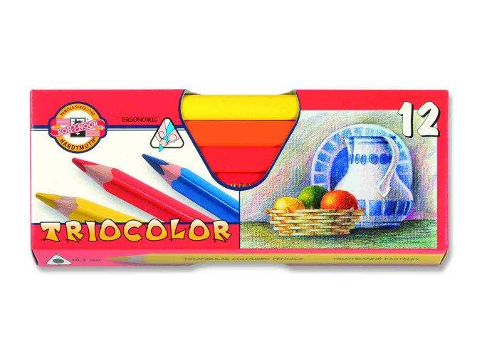 pastelky triocolor 3152 12ks silne 83678 0424110548 0