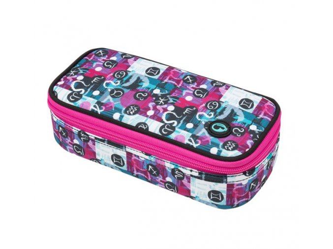 BAGMASTER CASE THEORY 9 A  PINK/WHITE/GRAY