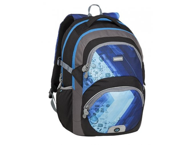 BAGMASTER THEORY 9 D BLUE/BLACK/GRAY