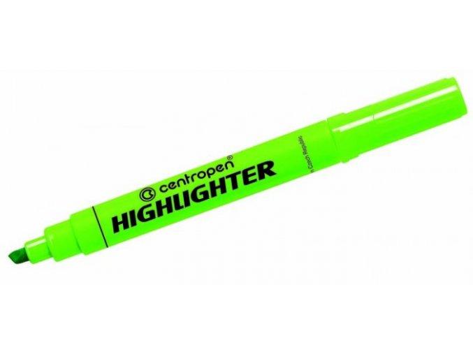 centropen zvyraznovac centropen 8552 highlighter zelena