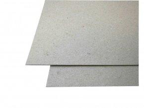 Lepenka šedá voluminézní 1260g/m2