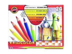 pastelky triocolor 3154 24ks silne 83680 0424110705 0